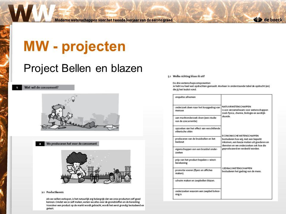 Project Bellen en blazen MW - projecten