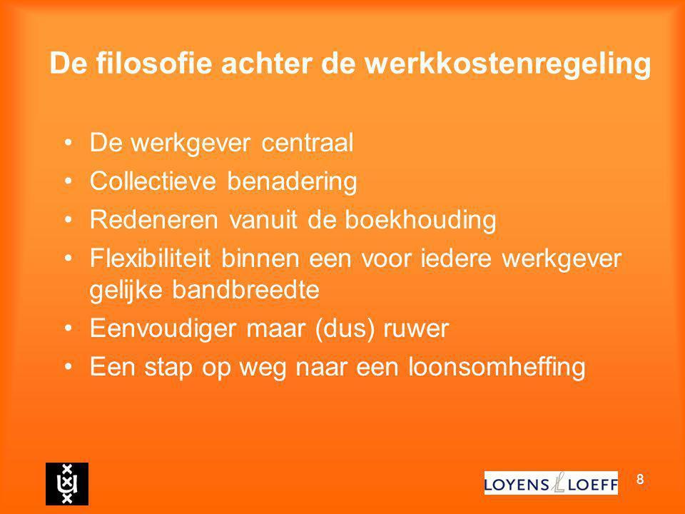 De werkkostenregeling Federatieve Studiekring Utrecht d.d. 9 november 2010 mr. A.L. (Ton) Mertens