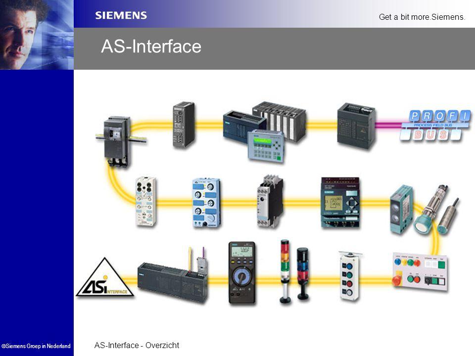 AS-Interface - Overzicht  Siemens Groep in Nederland Get a bit more.Siemens. AS-Interface