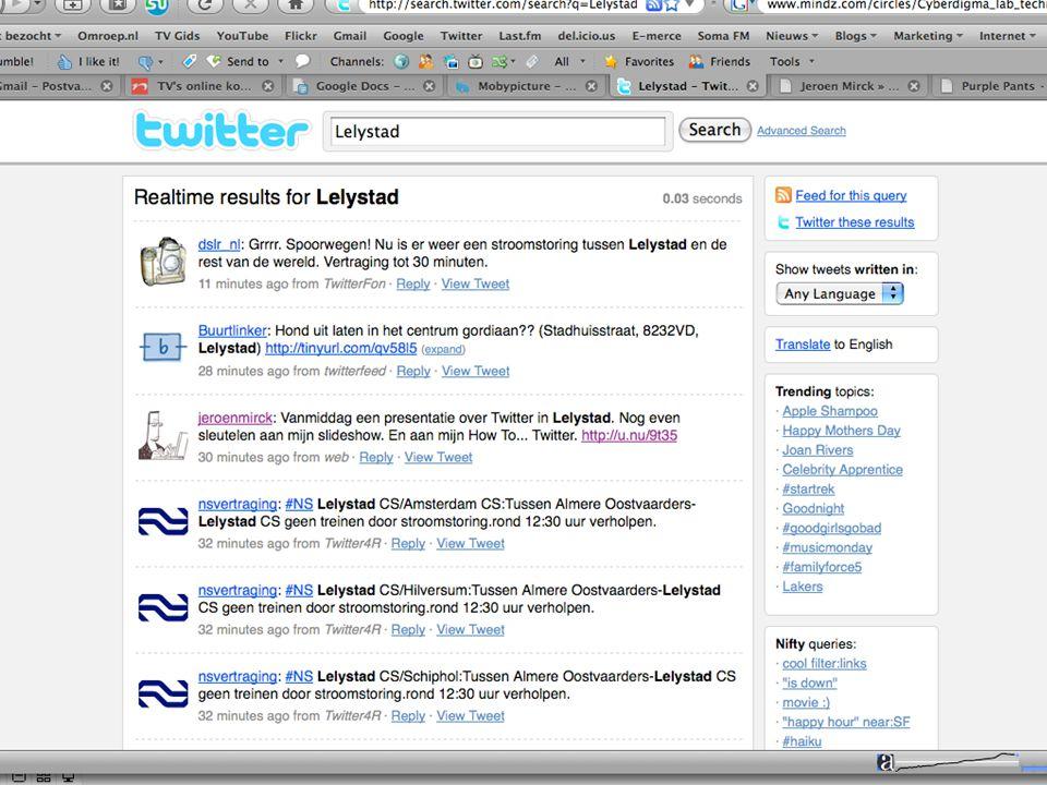 Twitter Search: Lelystad