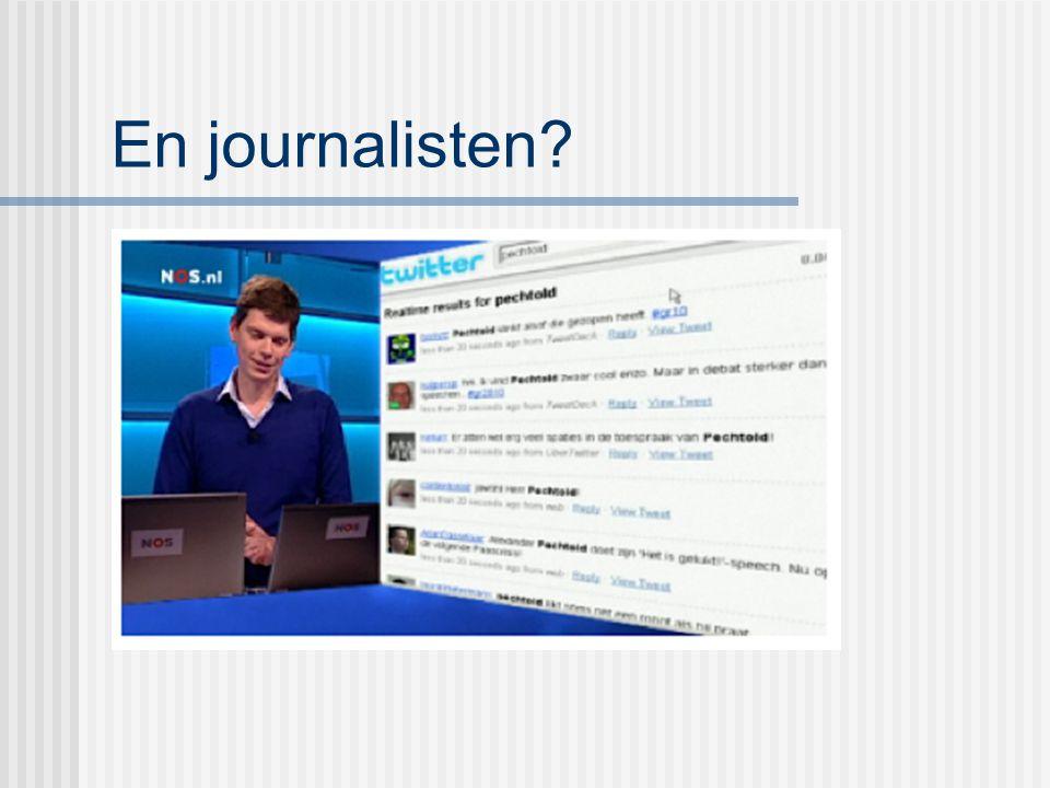 En journalisten?