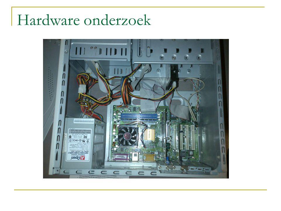 Hardware onderzoek