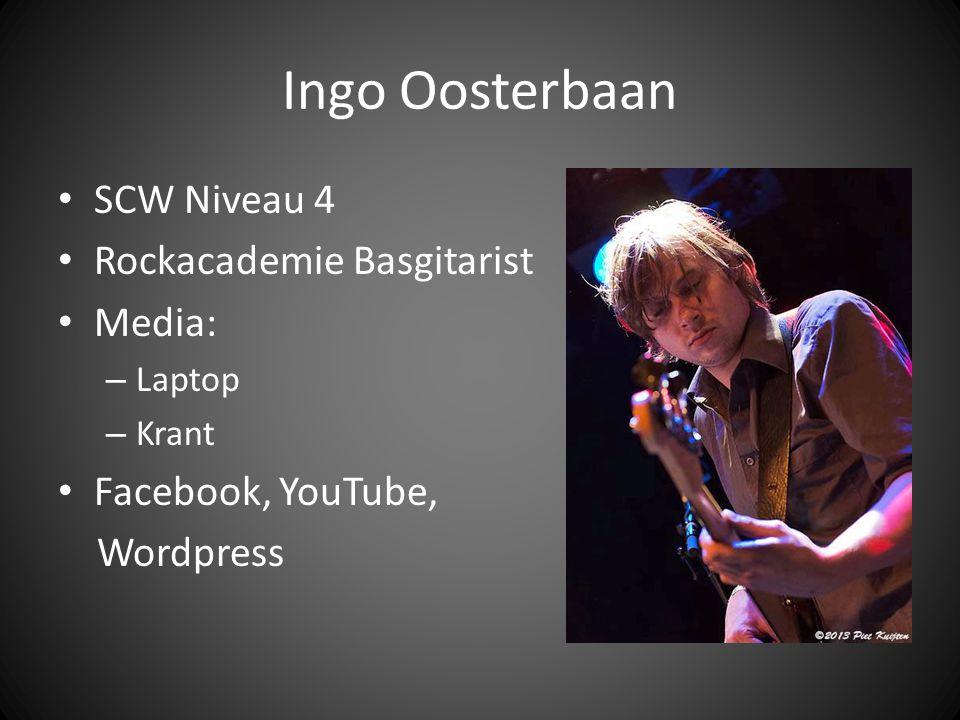 Nils van der Slikke Docent Muziek Conservatorium Rockacademie Drums Media: – Tv – Kranten – Laptop – Smartphone – Radio YouTube, Facebook, Twitter, Wordpress