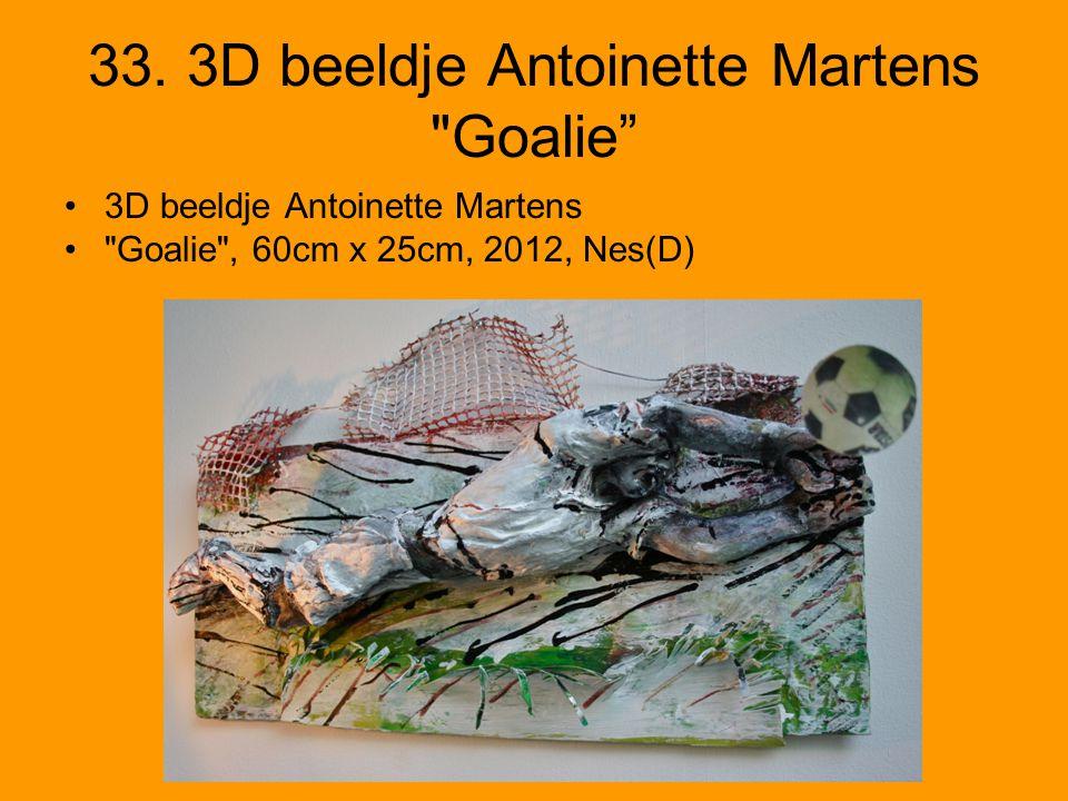 33. 3D beeldje Antoinette Martens
