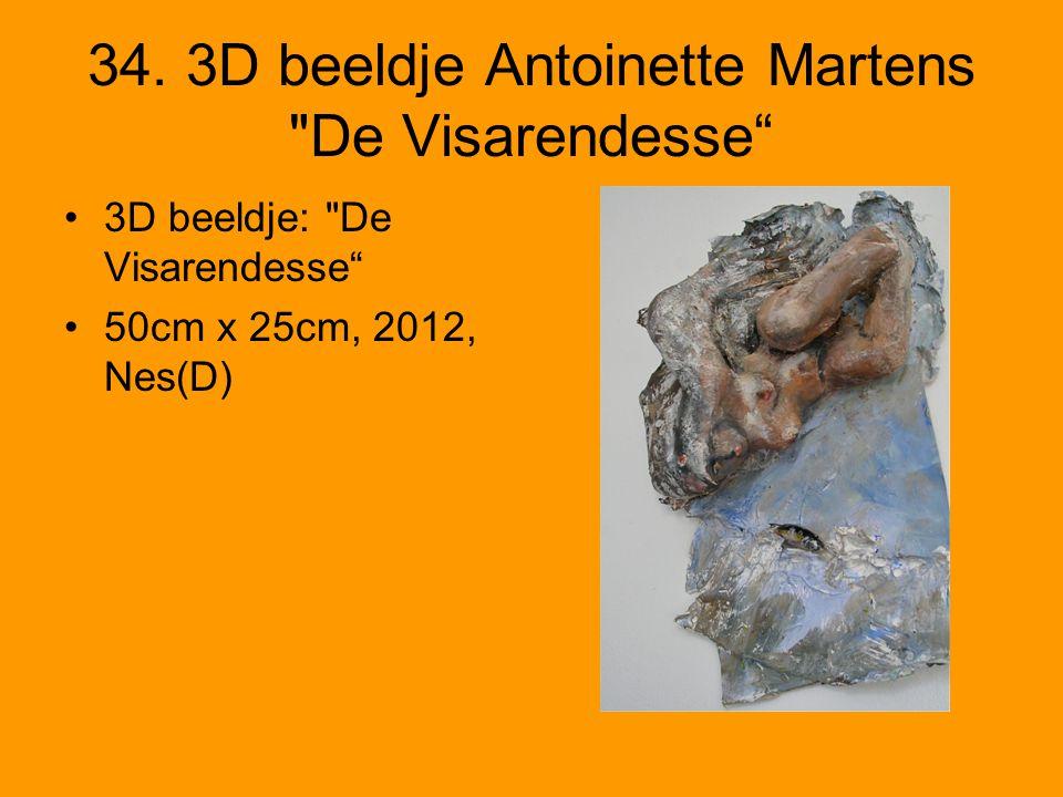 34. 3D beeldje Antoinette Martens