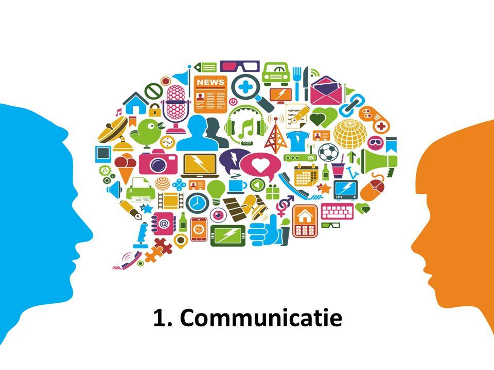 1. Communicatie