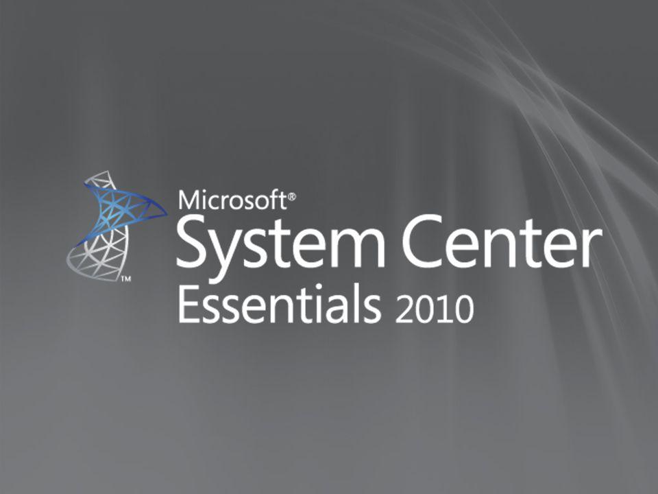 Typische klant Microsoft klant 2 servers of meer 10 werkstations of meer Management van kritische applicaties Virtualizatie