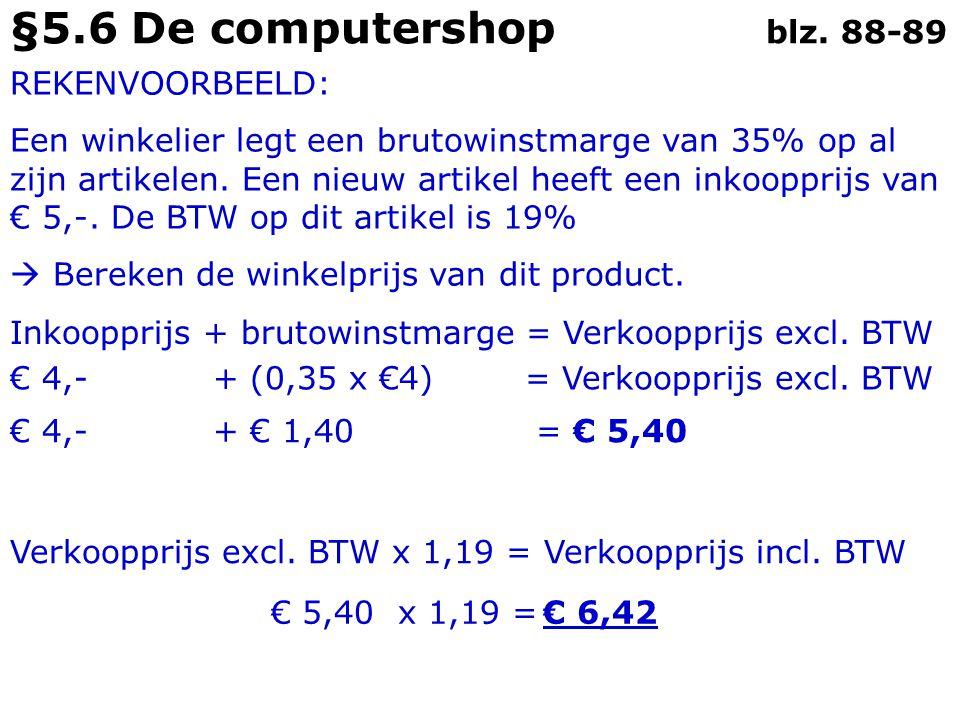 §5.6 De computershop blz.