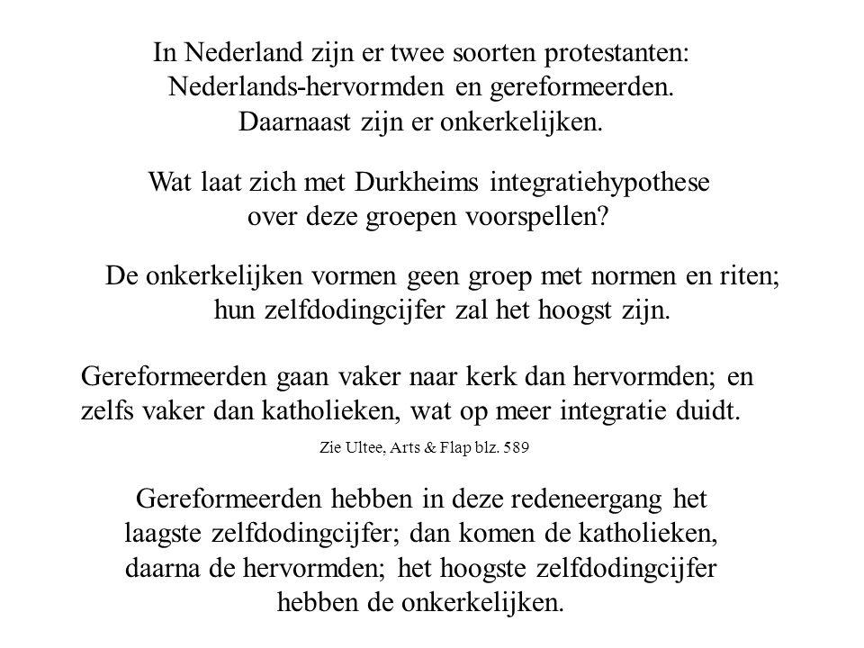 In Nederland zijn er twee soorten protestanten: Nederlands-hervormden en gereformeerden.