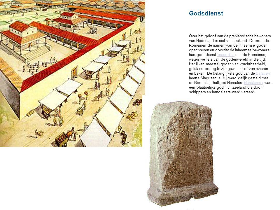 Godsdienst Over het geloof van de prehistorische bewoners van Nederland is niet veel bekend.