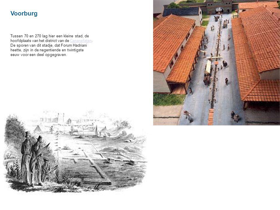 Voorburg Tussen 70 en 270 lag hier een kleine stad, de hoofdplaats van het district van de Cananefaten.