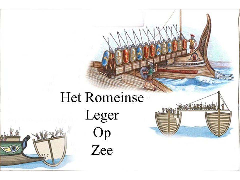 Het Romeinse Leger Op Zee