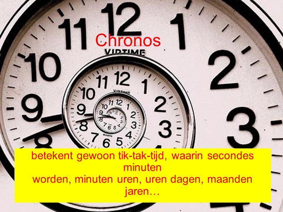 Kairos betekent in de Bijbel, tijd waarin God op een unieke manier aan het werk is.
