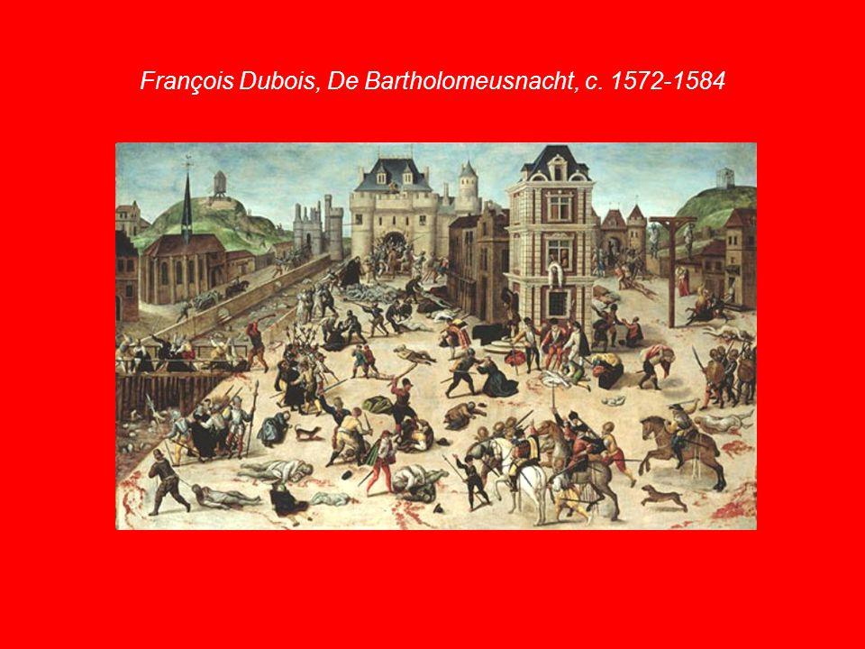 François Dubois, De Bartholomeusnacht, c. 1572-1584