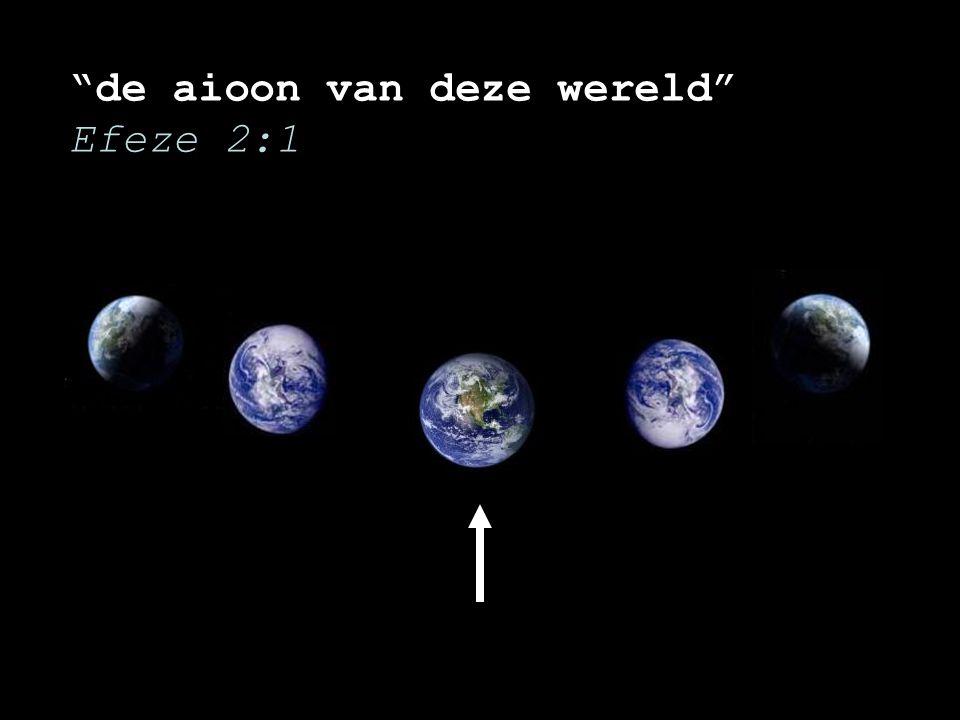 """""""de aioon van deze wereld"""" Efeze 2:1"""