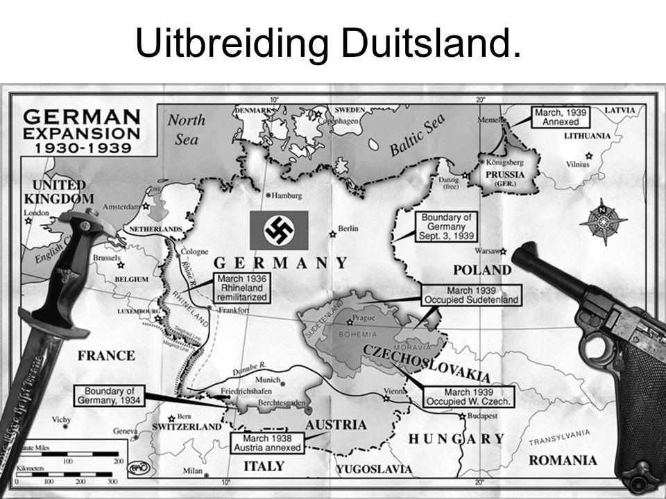 Uitbreiding Duitsland.