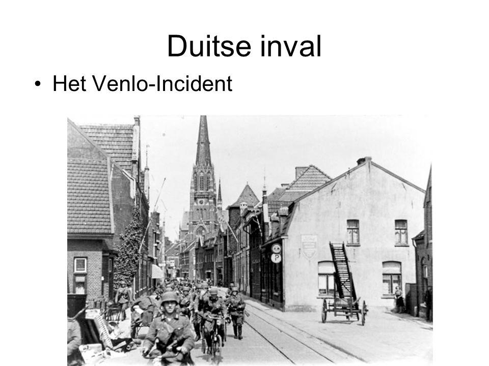 © Stef van der Velden 2011 Duitse inval Het Venlo-Incident