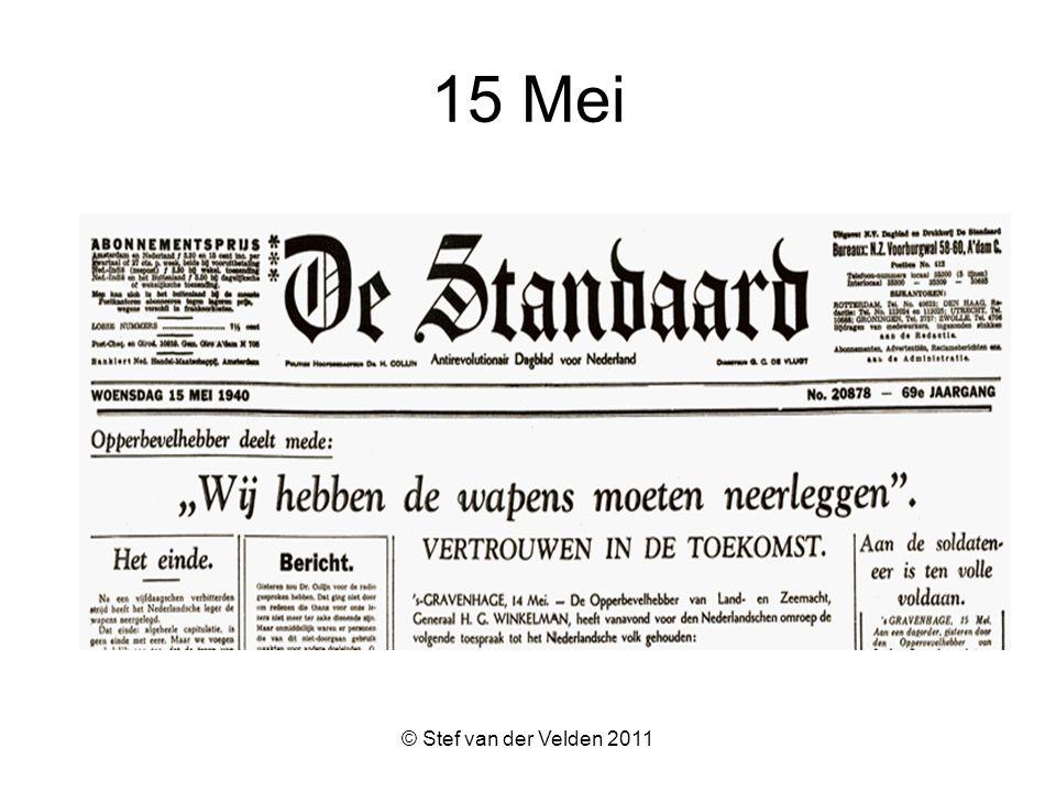 © Stef van der Velden 2011 15 Mei
