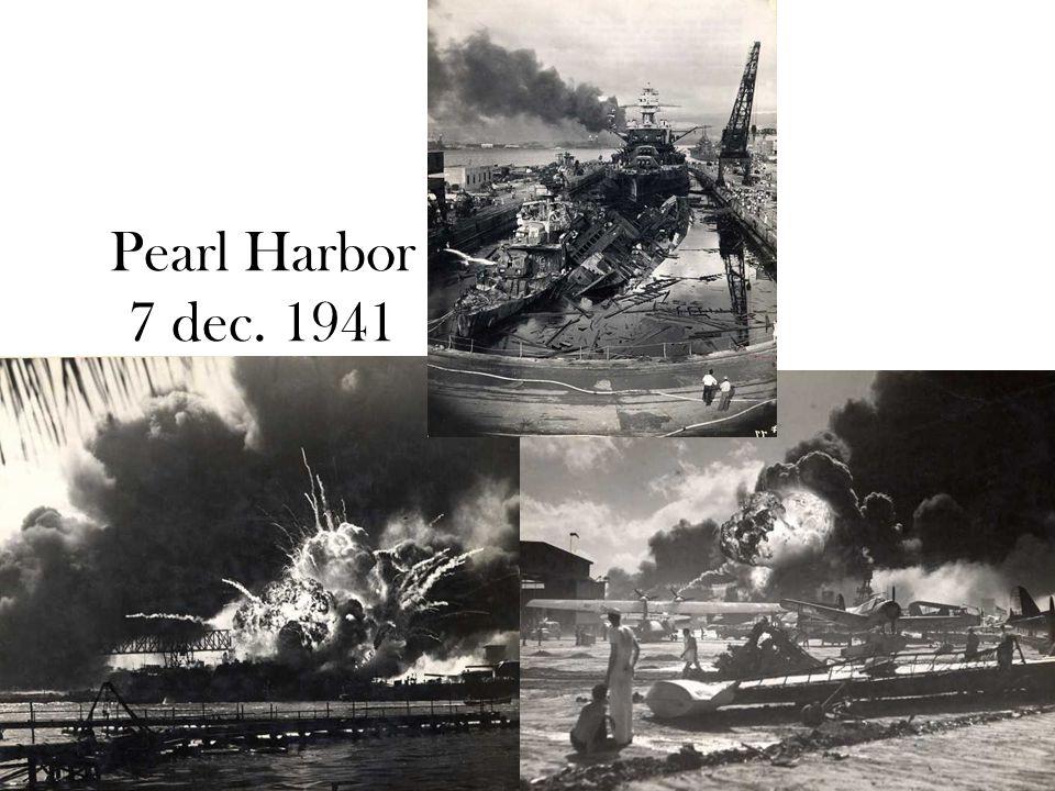 © Stef van der Velden 2011 Pearl Harbor 7 dec. 1941