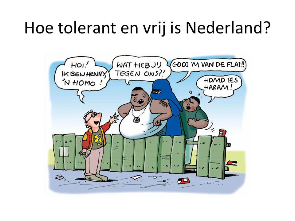 Hoe tolerant en vrij is Nederland?
