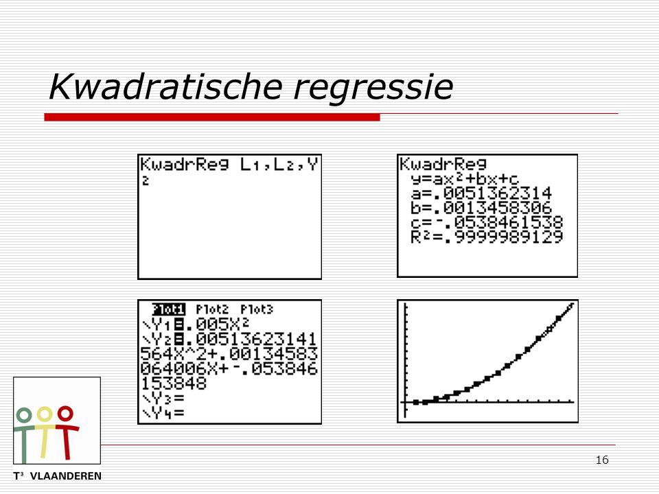 16 Kwadratische regressie