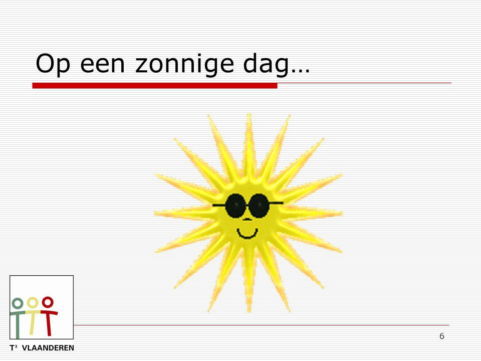 6 Op een zonnige dag…
