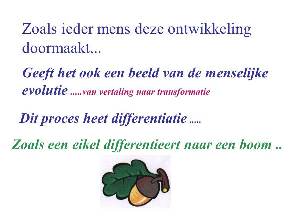 differentiatie..Voorbij vertaling.