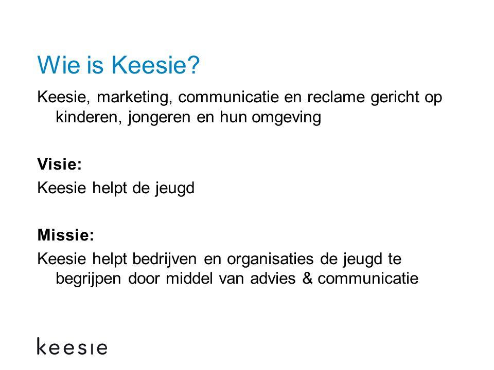 Wie is Keesie.