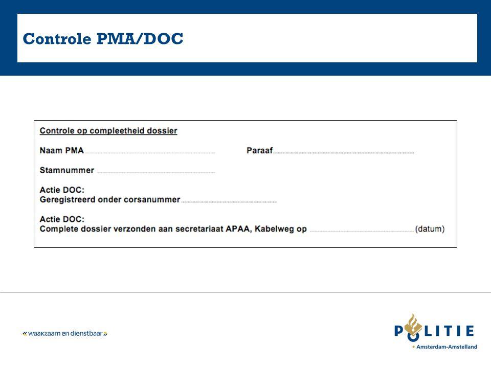 Controle PMA/DOC