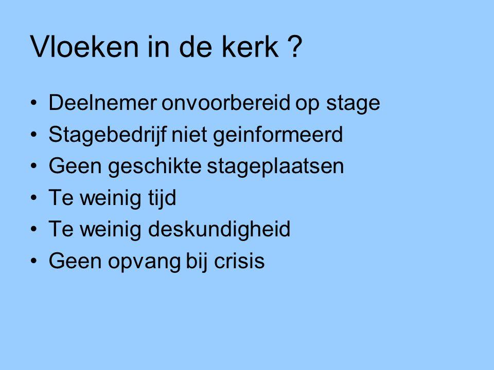 Voldoende deskundigheid Directe scholing docenten en bedrijven Indirecte bijscholing d.m.v.