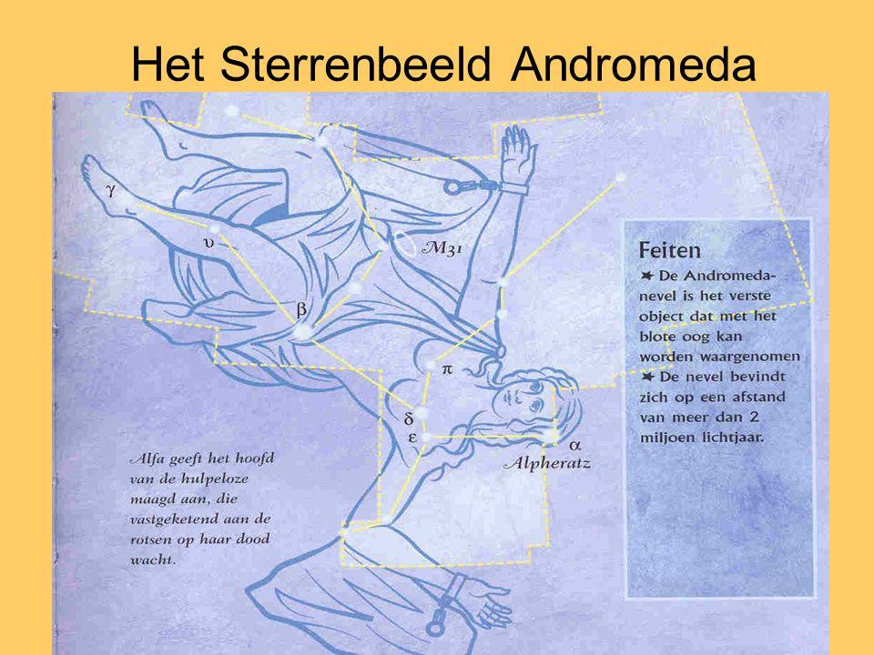 Het Sterrenbeeld Andromeda