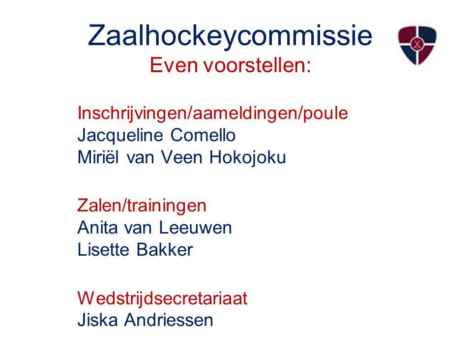 Zaalhockey 2013-2014 Nog nooit zoveel teams die de zaal in gaan; voor HCN 56 teams, voor MN 1550 teams.