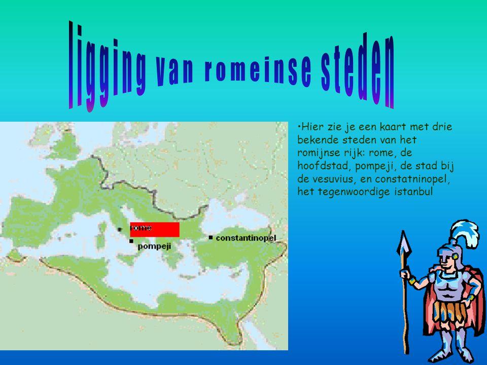 Rome was de hoofdstad van het Romeinse rijk. Hier regeerde verschillende grote keizers zoals keizer cecàr. Foto 1 Foto 3 Foto 2