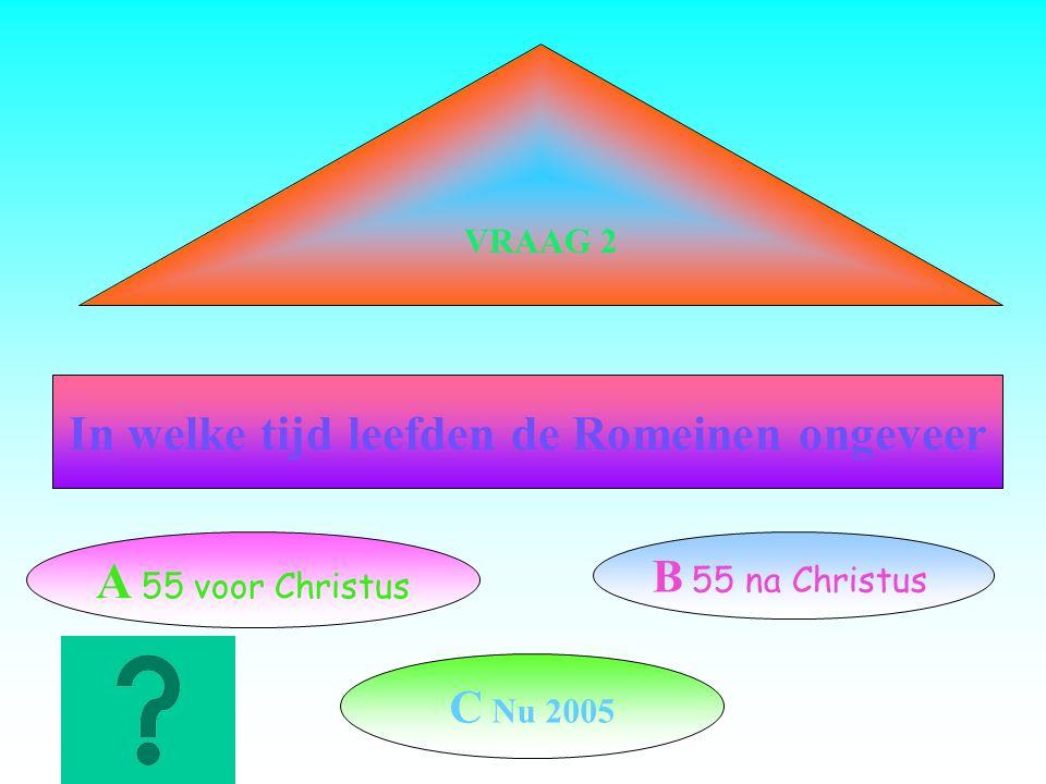 Hoeveel is CLX-LXV= A C B LXXXXV C CL Vraag 1