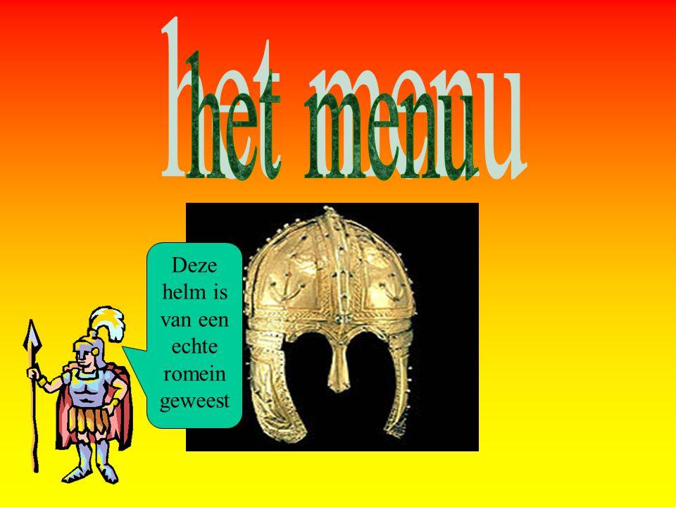 Deze helm is van een echte romein geweest