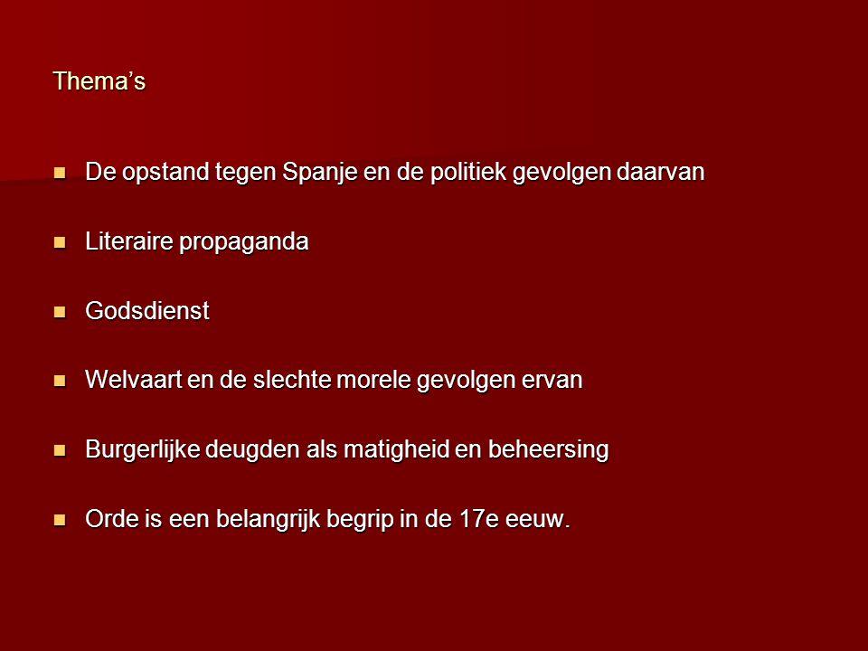 Het materiaal van de schrijver: taal en literaire conventies Volgens Vondel ging het zo: Je de Nederlandse taal goed eigen maken door oudere auteurs t