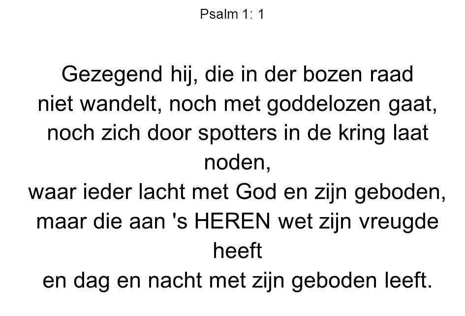 Gezang 430: 7 Ik heb U lief, o wonderschone, ik heb U lief, Gij zijt mijn God.