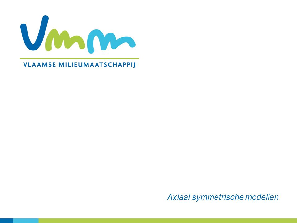 Axiaal symmetrische modellen