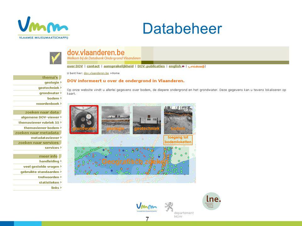 8 https://dov.vlaanderen.be/dovweb/html/3grondwaterachtergrondinfo.html www.vmm.be/publicaties/grondwaterbeheer-in-vlaanderen/