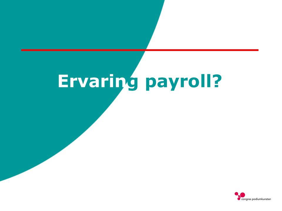 Ervaring payroll?