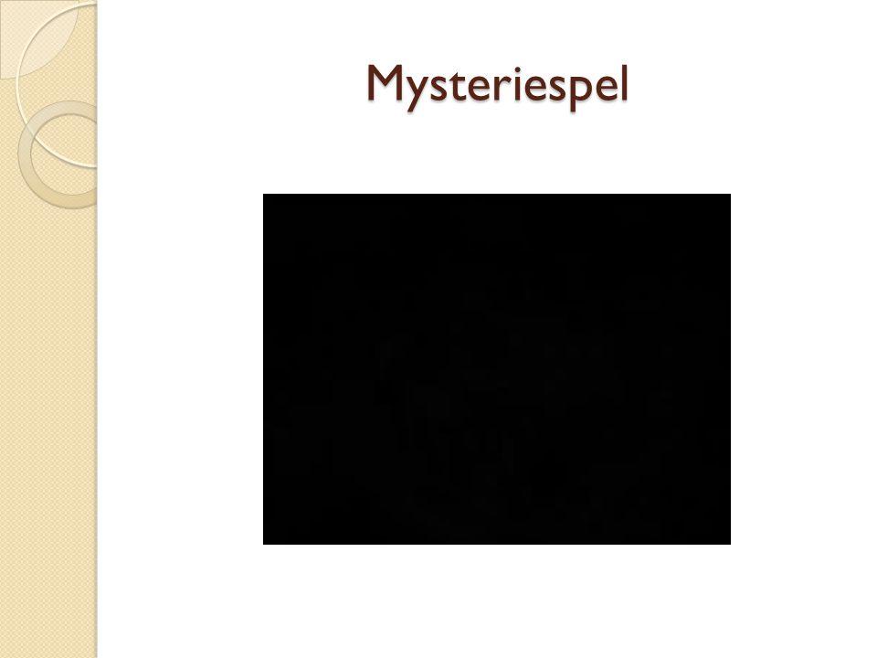 Mysteriespel