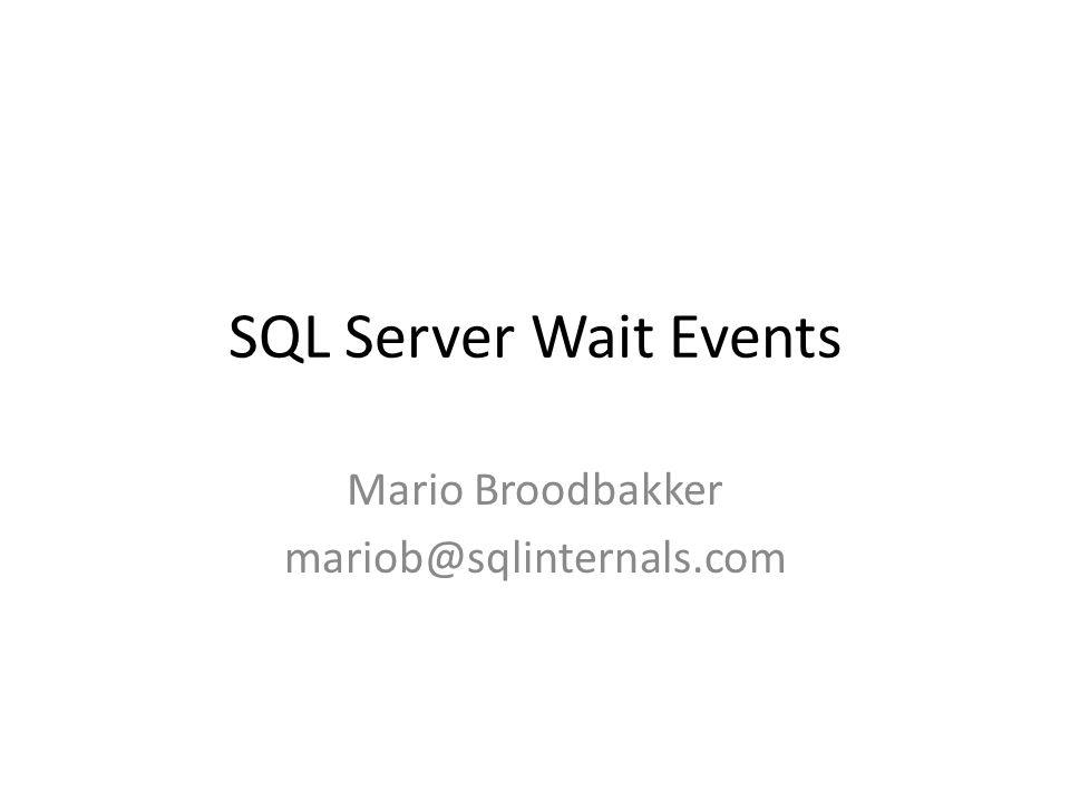Insert loop 10k rows, commit inside or outside SQLInternals tools) Commit Inside loop, per row.