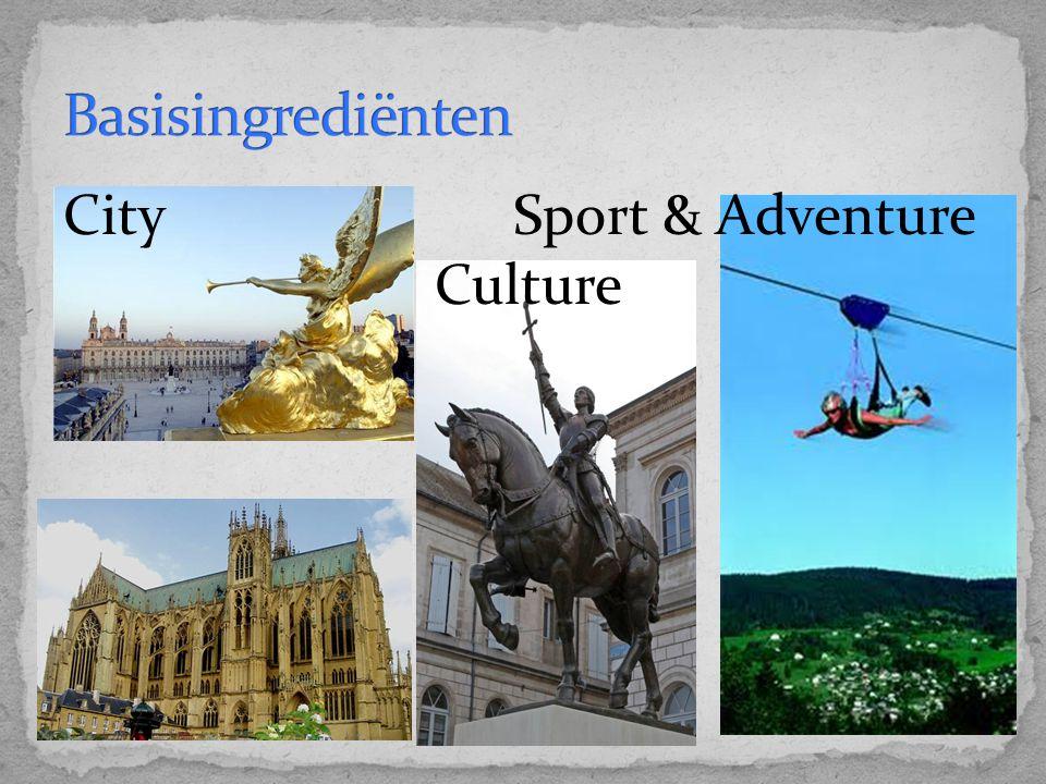 Dag 1: Nancy Big City Life Dag 2: Gérardmer Avontuur Dag 3: Vaucouleurs & Rodemack Beleven en herbeleven Dag 4: Douaumont & Verdun Beleven en herbeleven Dag 5: Metz Big City Life