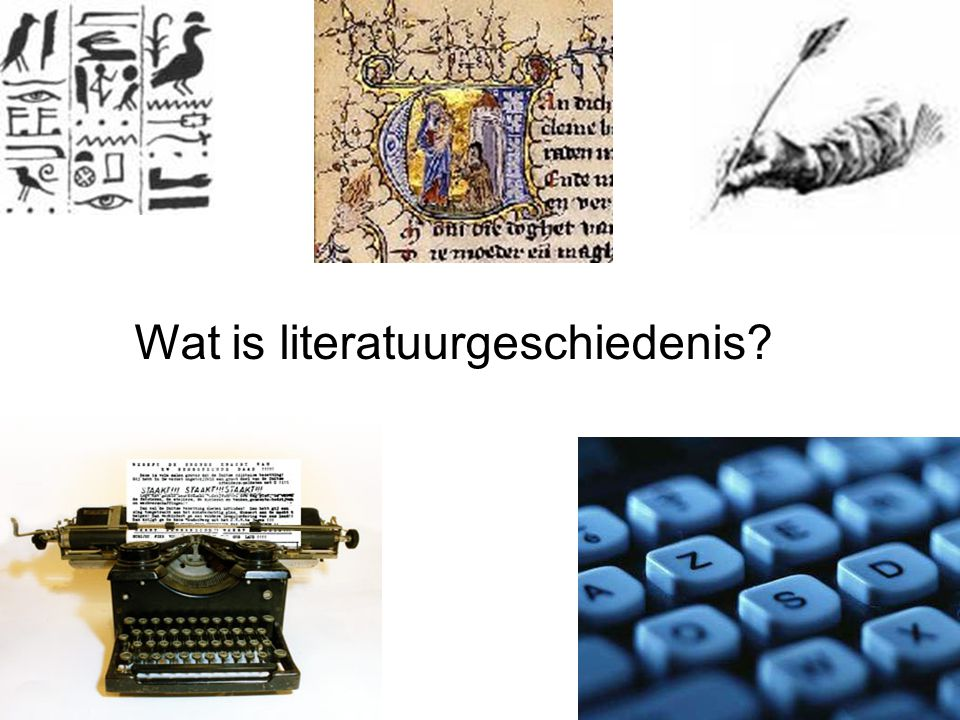Wat is literatuurgeschiedenis?