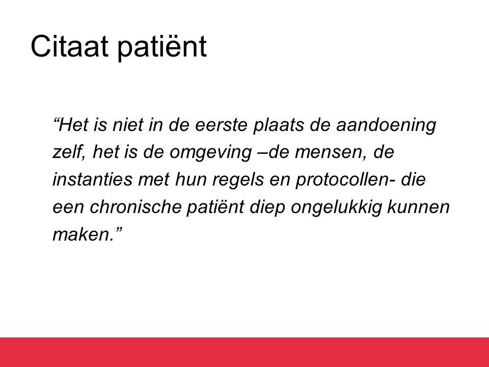 Bevorderen zelfmanagement 2 sporen: 1.Gedeelde zorg (tussen arts en patiënt) 2.Patiënteneducatie (kennis en vaardigheden)