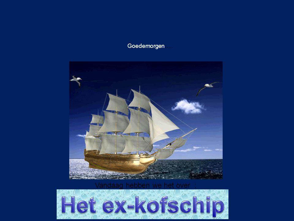 Werkwoordspelling Doel: het ex-kofschip