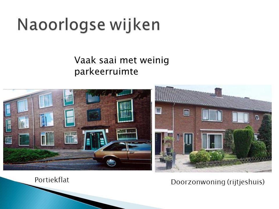 Vaak saai met weinig parkeerruimte Portiekflat Doorzonwoning (rijtjeshuis)