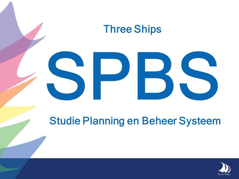Three Ships SPBS Studie Planning en Beheer Systeem