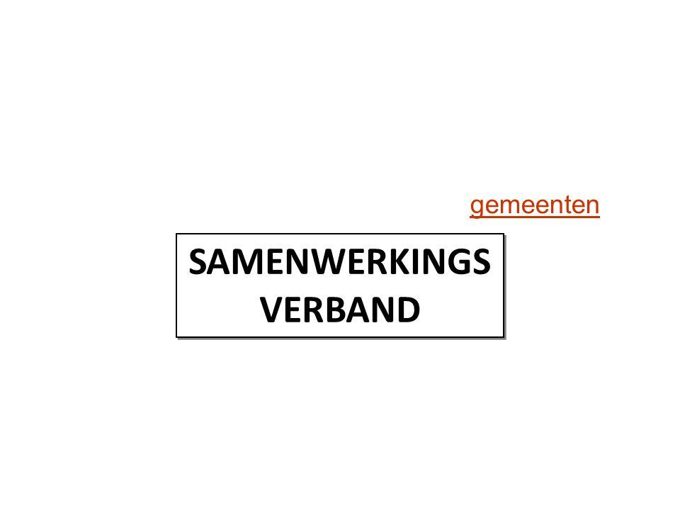 gemeenten SAMENWERKINGS VERBAND