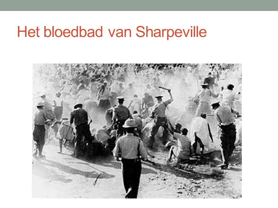 Het bloedbad van Sharpeville